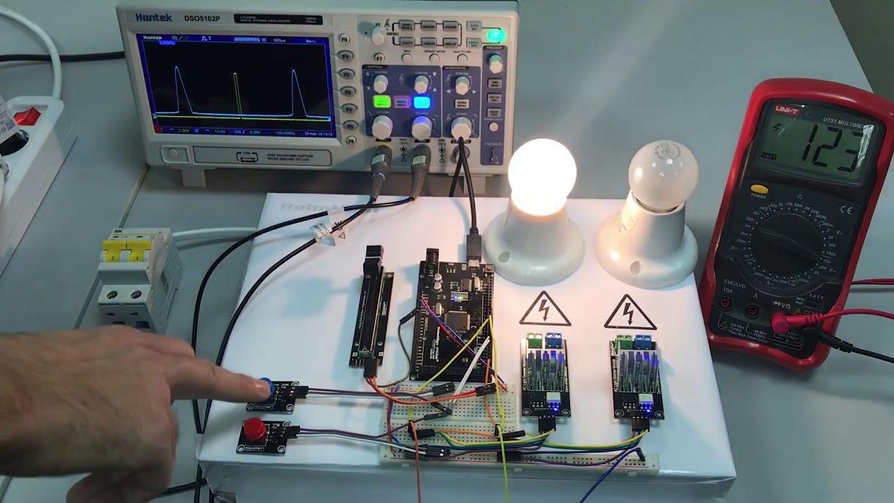 RobotDyn AC Light Dimmer  Zero-cross pulse shift