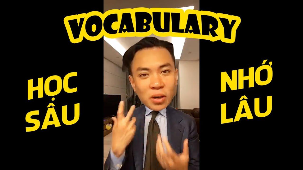 [TIW's Livestream] Thầy Tùng 9.0 IELTS Chia Sẻ Cách Học Sâu Nhớ Lâu Từ Vựng