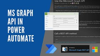 How To Use Microsoft Graph API In Power Automate