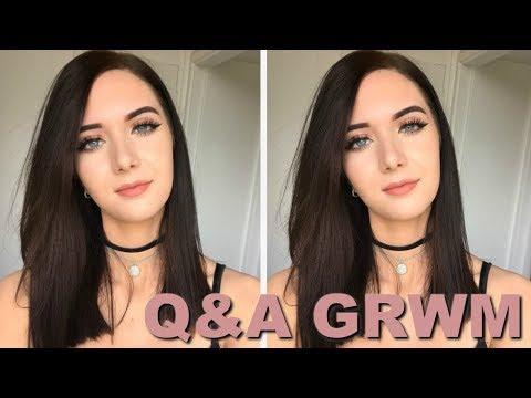 Q&A GRWM (Everyday Glam Makeup) // ItsGeorginaOkay