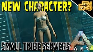 ARK: SMALL TRIBE SERVERS - EP 7 - NEW TRIBE, NEW SERVER!
