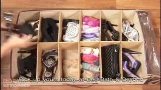 Shoes Under Shoe Storage Organizer At Bed Bath & Beyond
