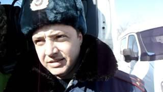 Хабаровск Пост ПВК безымянный ДПС(Взвешивание ТС запрещено на передвижном посту весового контроля ППВК в нарушение Постановления Правитель..., 2012-03-16T00:09:05.000Z)