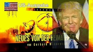 Trump gewinnt wie von Wisnewski vorhergesagt und blamiert unsere Politiker und Medien