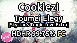 Cookiezi | Konuko - Toumei Elegy [Skystar's Tragic Love Extra] HDHR 99.75% FC 663pp | Liveplay