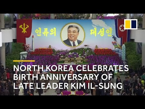 North Korea celebrates birth anniversary of late leader Kim Il-sung