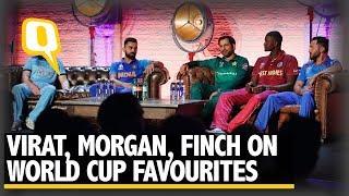 ICC World Cup: Virat Kohli, Eoin Morgan, Aaron Finch on Favourites | The Quint