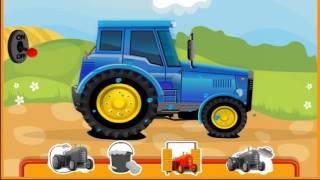 смотреть видео дети играют в трактор. В Мире Детей!