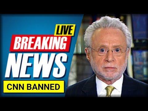 BREAKING: CNN FINALLY BANNED FROM WHITE HOUSE