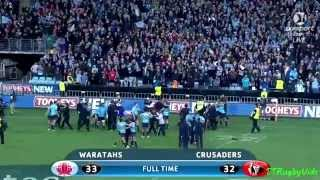 Waratahs Vs Crusaders Final - Tribute To The Best Team In The Universe In 2014