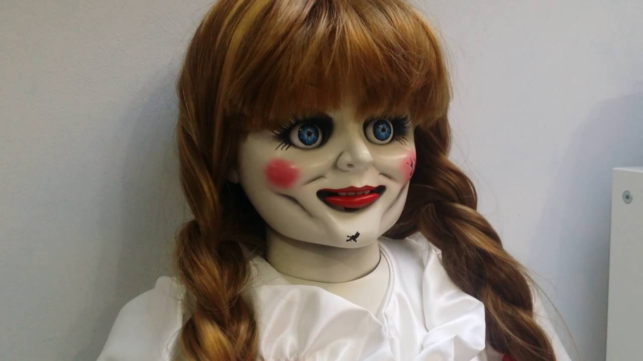 Life size annabelle doll