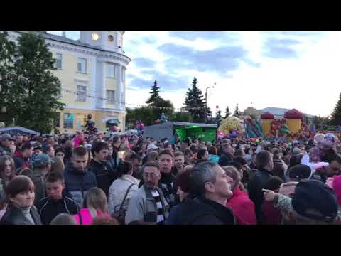 Группа ВИРУС на дне города Родники, Ивановской области | RocketBooking.ru