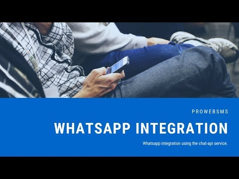 Whatsapp Integration With Chat-api Service