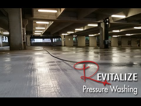 Concrete Cleaning Houston - Houston Parking Lot & Parking Garage Cleaning