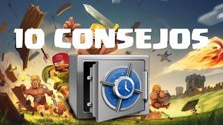 10 SECRETOS/ CONSEJOS DEL CLASH OF CLANS - Español - CoC