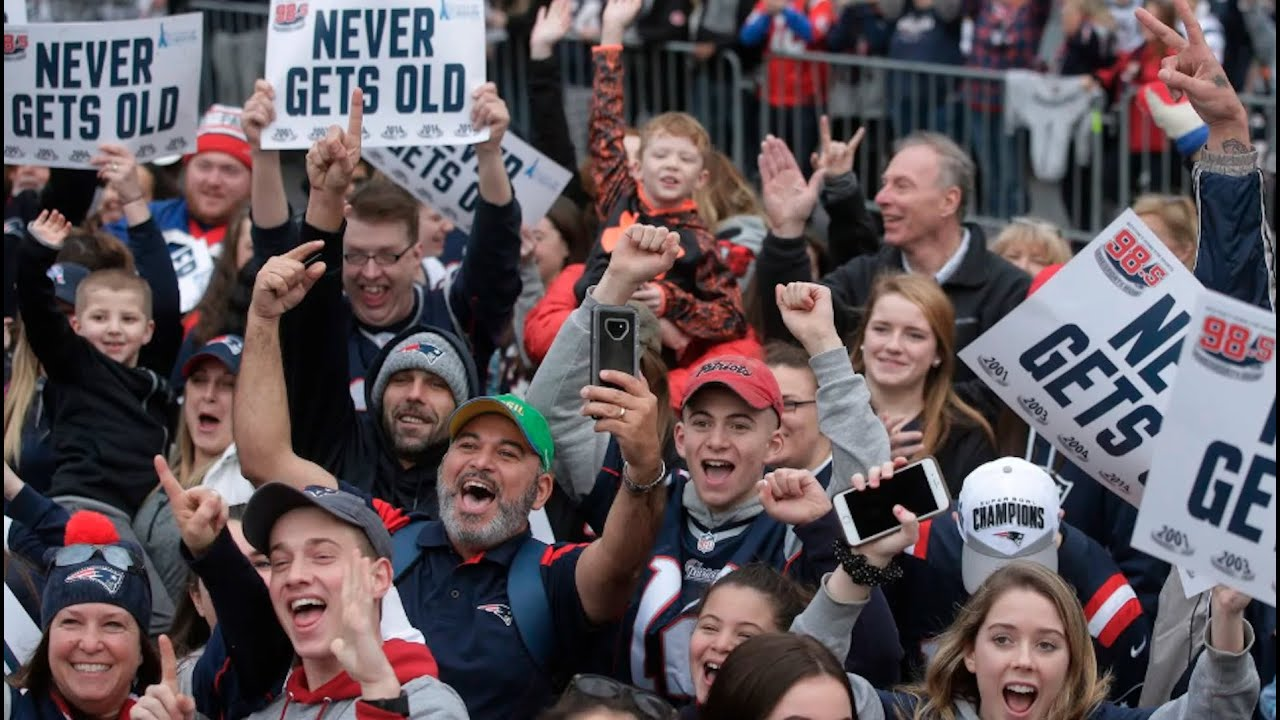 Patriots Parade 2019: Start Time, Live-Stream Schedule for Victory Celebration