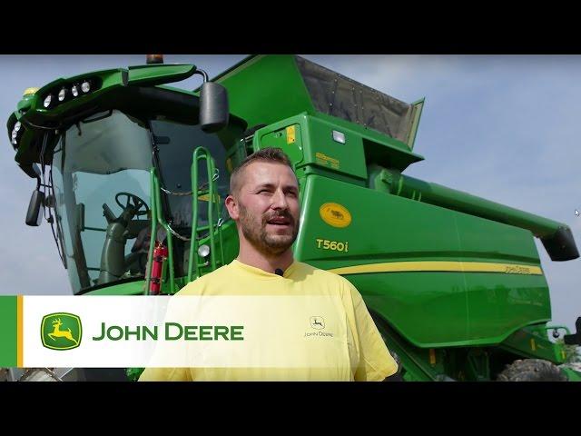 Mietitrebbia T560i John Deere: la testimonianza di Roberto Negroni