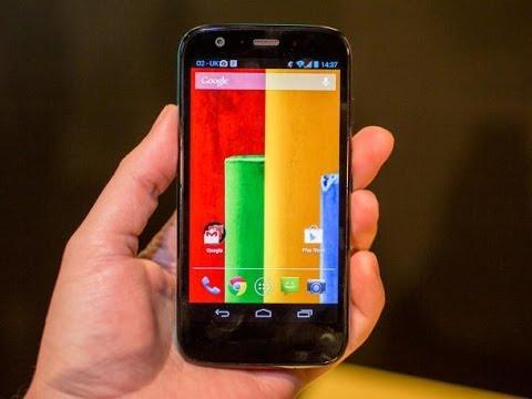 Motorola's Moto G Lands on Amazon