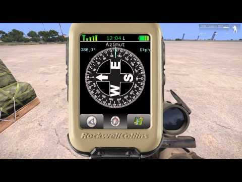 arma 3 how to open gps