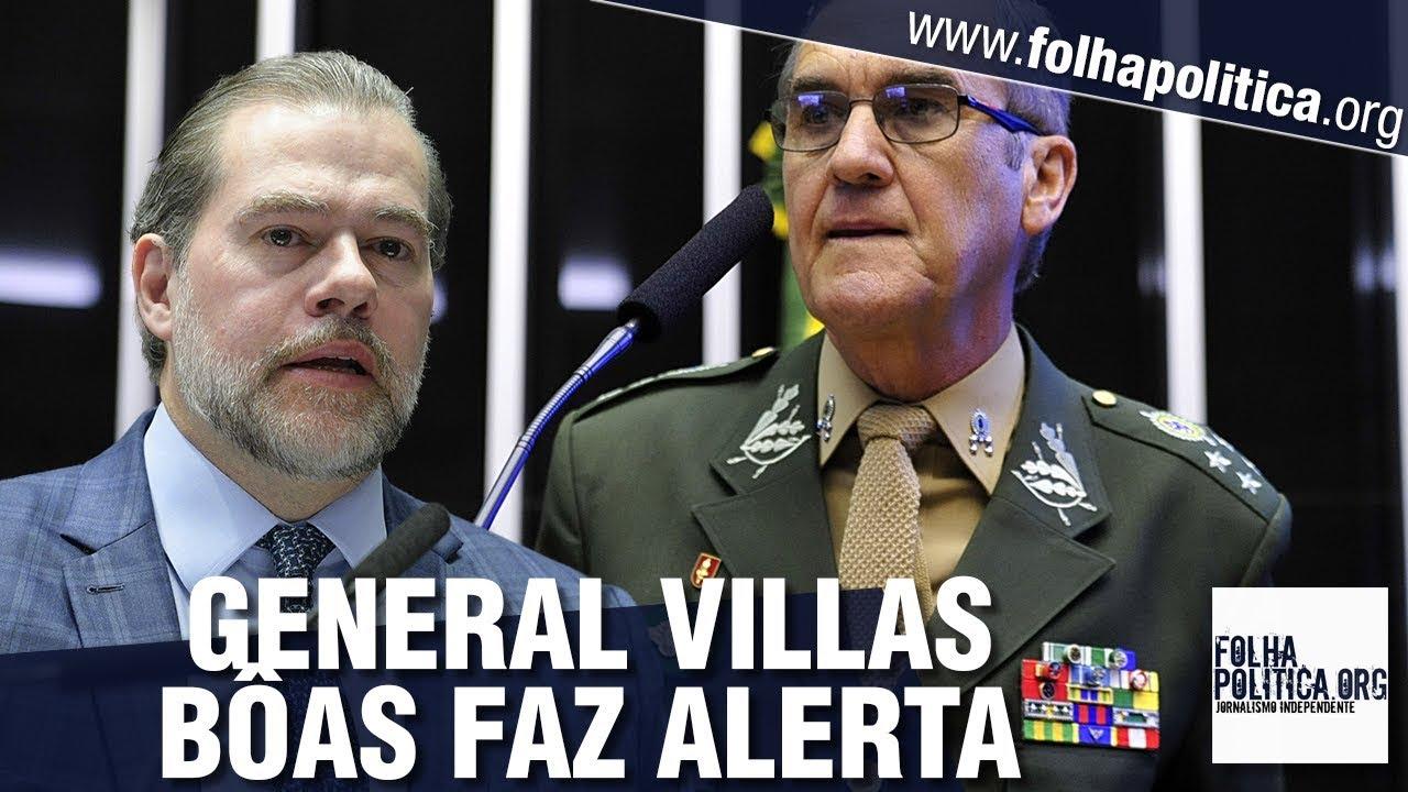 Resultado de imagem para Na véspera do julgamento no STF, General Villas Bôas alerta sobre risco de convulsão social