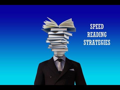 Speed Reading Strategies