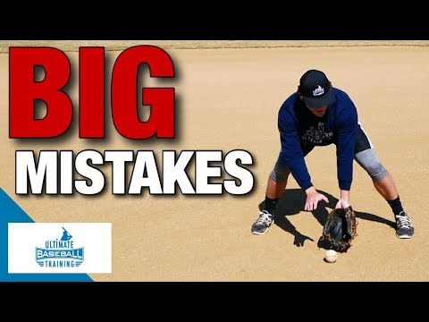 How to: Field a Ground Ball | Mistakes To Avoid!