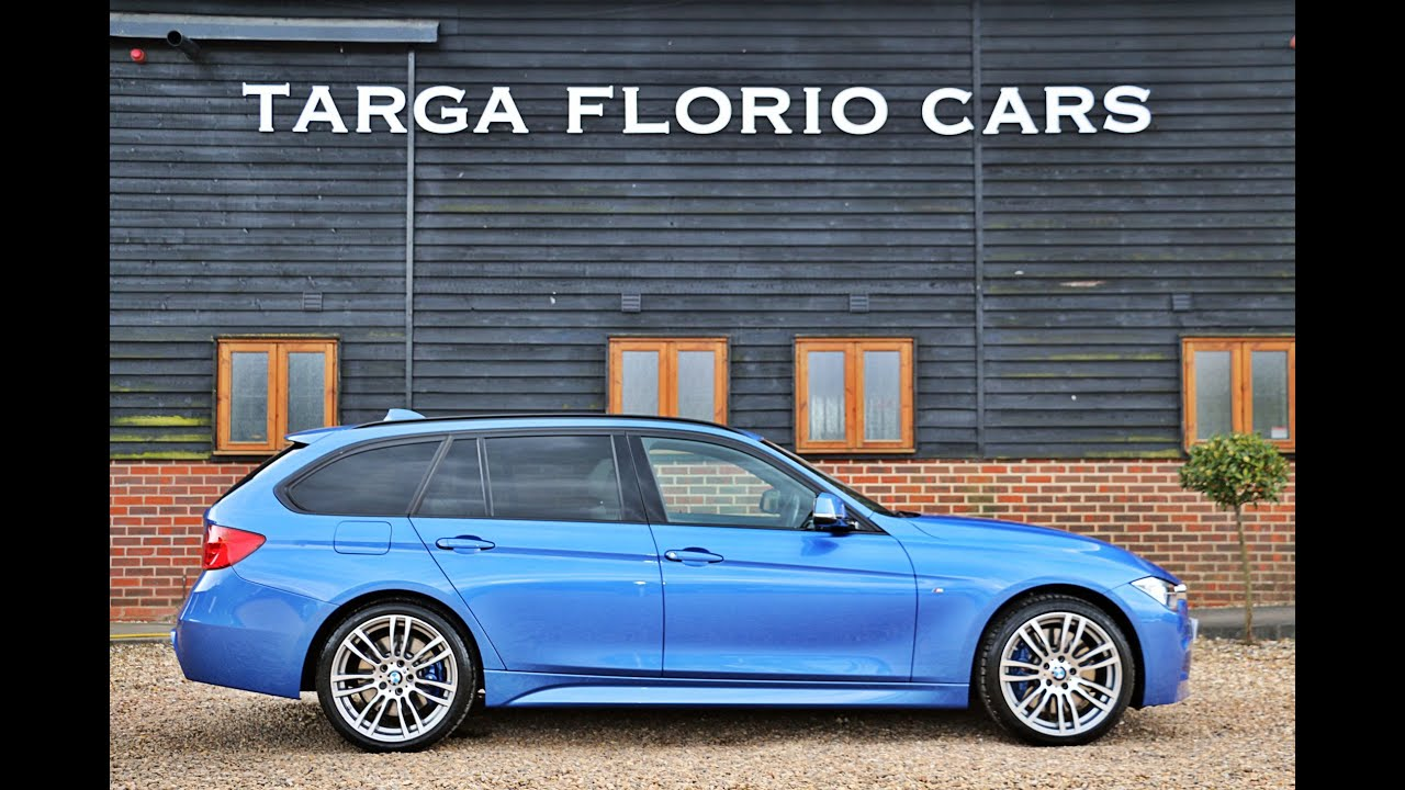 BMW 335D M Sport Touring 3.0L Twin Turbo in Estoril Blue ...