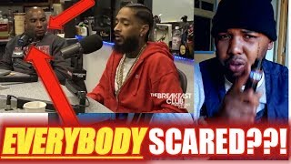 """Nipsey Hussle tataking """"Victory Lap™"""" FRUSTRATIONS off  on the """"WRONG"""" people!!!  {{MUST SEE}}"""