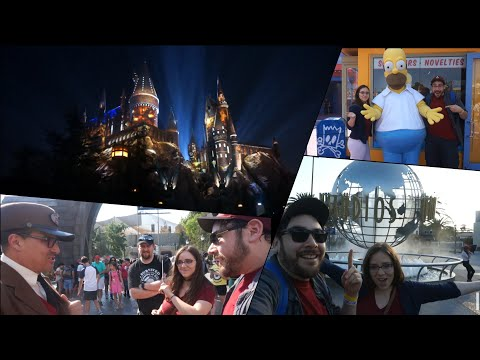 Universal Studios Hollywood VLOG - John Rocha as The Conductor, Movie Quotes, The Wizarding World