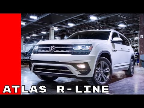 2018 VW Atlas R-Line