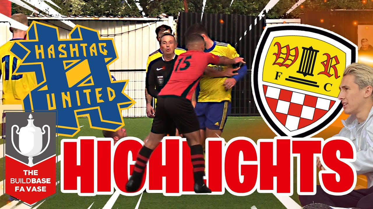 LIKE WATCHING BRAZIL!  - HASHTAG UNITED vs WORMLEY ROVERS FA VASE HIGHLIGHTS
