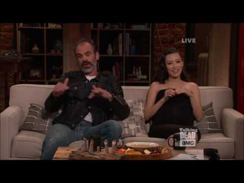 Talking Dead - Steven Ogg on working with Xander Berkeley (Gregory)