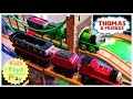 Thomas and Friends Wooden Railway Accidents will Happen Double Play Table | Playing with Trains