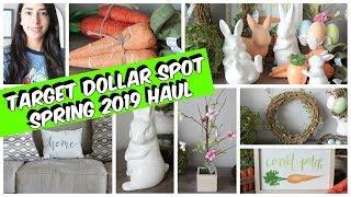 TARGET DOLLAR SPOT HAUL SPRING 2019