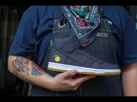 free shipping 5bade a10c0 Kicksvision | Nike SB Dunk Hi Momofuku 1st Look