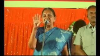 Anandiben Patel attends public meeting at Mavdi Chokdi, Rajkot (RMC)