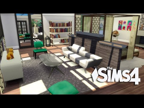 The Sims 4 - Let's Build a Modern Mansion (Part 11 ) Realtime