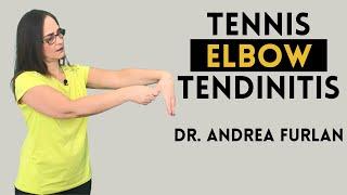 مرفق التنس - التهاب اللقيمة الجانبي - آلام الكوع والتهاب الأوتار بواسطة الدكتور أندريا فورلان screenshot 3