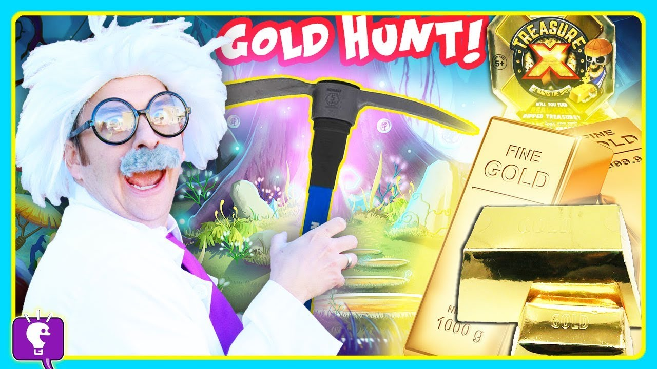 GOLD TREASURE Hunt Adventure! Surprises with HobbyHarry on HobbyKidsTV