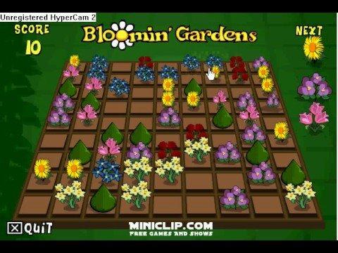 Blooming Garden Flower Game
