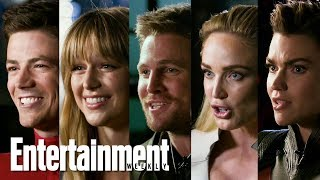The Arrowverse In 30 Seconds: Cast Explains The DC Universe | Entertainment Weekly