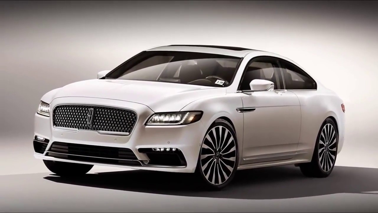 Watch 2017 Lincoln Continental Coupe New Car