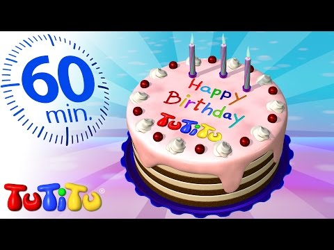 TuTiTu Specials | Birthday Cake | And Other Popular TuTiTu Videos | 1 HOUR Special