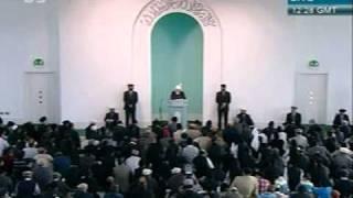 khutba juma - 28-oct-2011- jmaat ahmadiyya khalifa tul masih khamis  atba - 5