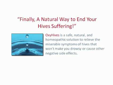 Try Oxyhives Get Relief From Painful Hives With Oxyhives Youtube