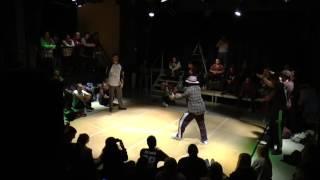 Battle-Box Halbfinale Popping (Tilim vs. Davalo)
