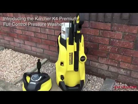 karcher k4 premium full control pressure washer youtube. Black Bedroom Furniture Sets. Home Design Ideas