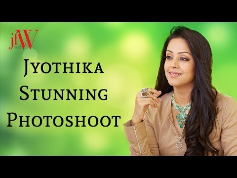 Jyothika Stunning Photoshoot | JFW Cover...