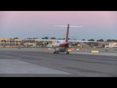 Sunrise at the North Las Vegas Airport - [HD]