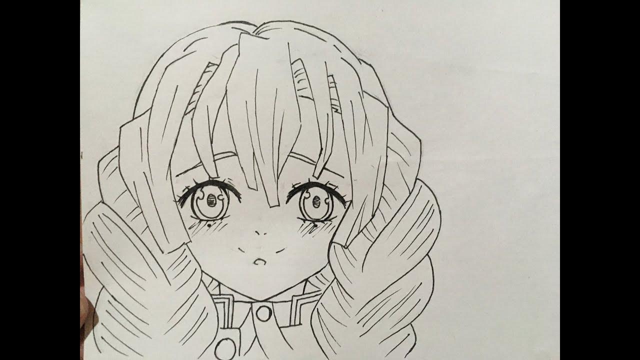 How To Draw Mitsuri Kanroji Youtube Art abyss anime demon slayer: how to draw mitsuri kanroji